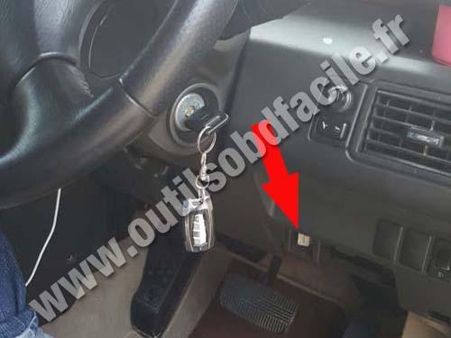 Prise OBD2 dans les Nissan X-Trail (2001 - 2007) - Outils ...