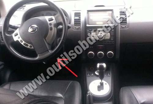 Prise OBD2 dans les Nissan X-trail (2007 - 2013) - Outils ...