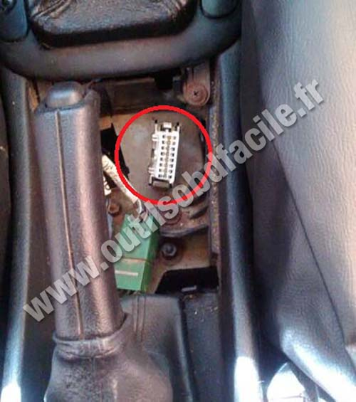 Opel Astra G prise OBD