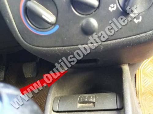 Opel Combo B Console centrale