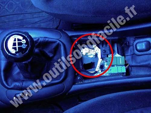 Prise Obd2 Dans Les Opel Vectra B 1995 2002 Outils