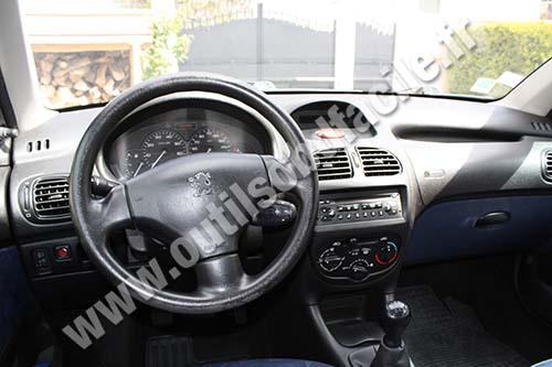 Prise Obd2 Dans Les Peugeot 206 1999 2009 Outils Obd