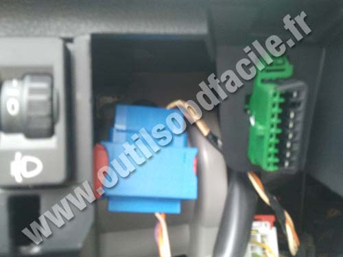 Peugeot 307 obd location cadillac