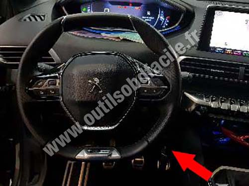prise obd2 dans les peugeot 5008 ii 2017 outils obd facile. Black Bedroom Furniture Sets. Home Design Ideas