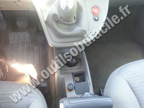 Renault Kangoo II console centrale