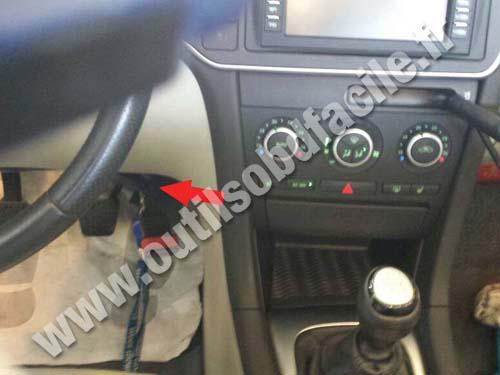 Prise Obd2 Dans Les Saab 9 3 2002 2011 Outils Obd Facile