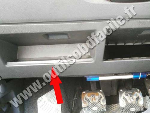 Seat Ibiza 2 Compartiment fusible