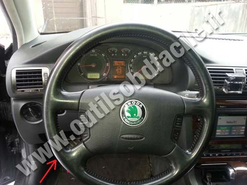 Skoda Superb Volant