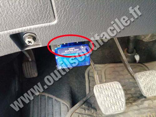 Ssangyong Stavic - Prise OBD