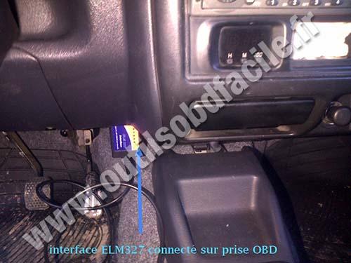 Prise OBD2 dans les Suzuki Jimny (1998 - ) - Outils OBD Facile