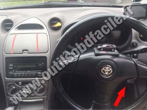 Prise OBD2 dans les Toyota Celica (RHD) (2000 - 2005 ...