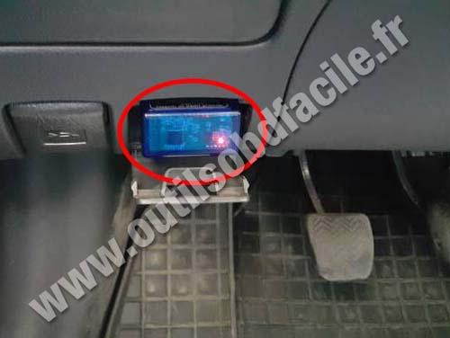 Prise Obd2 Dans Les Toyota Corolla 2006 2013 Outils