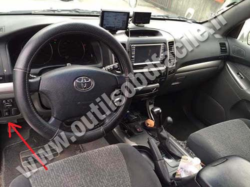 Prise OBD2 dans les Toyota Land Cruiser (1998 - 2007 ...