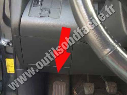 Toyota Rav Repose Pied