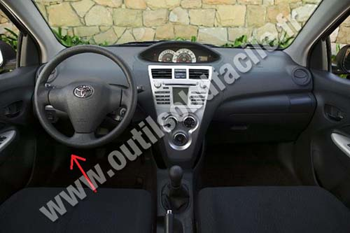 Prise Obd2 Dans Les Toyota Yaris 2005 2011 Outils