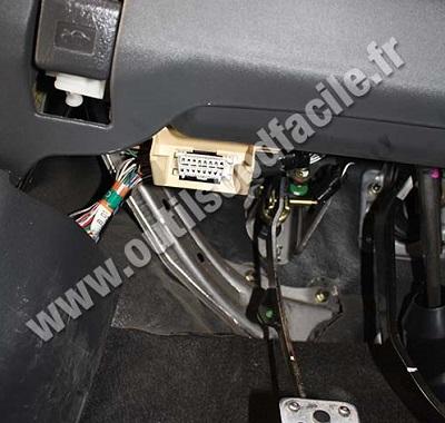 Prise Obd2 Dans Les Toyota Yaris 1999 2005 Outils
