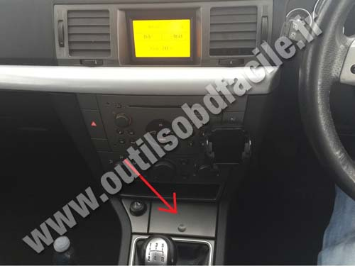 Vauxhall Vectra C console centrale