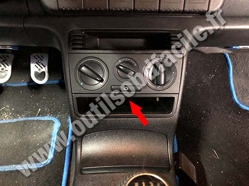 Volkswagen Lupo - Console centrale