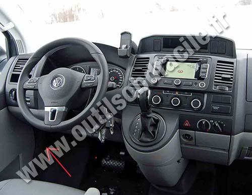 Prise Obd2 Dans Les Volkswagen Transporter T5 2003 2009