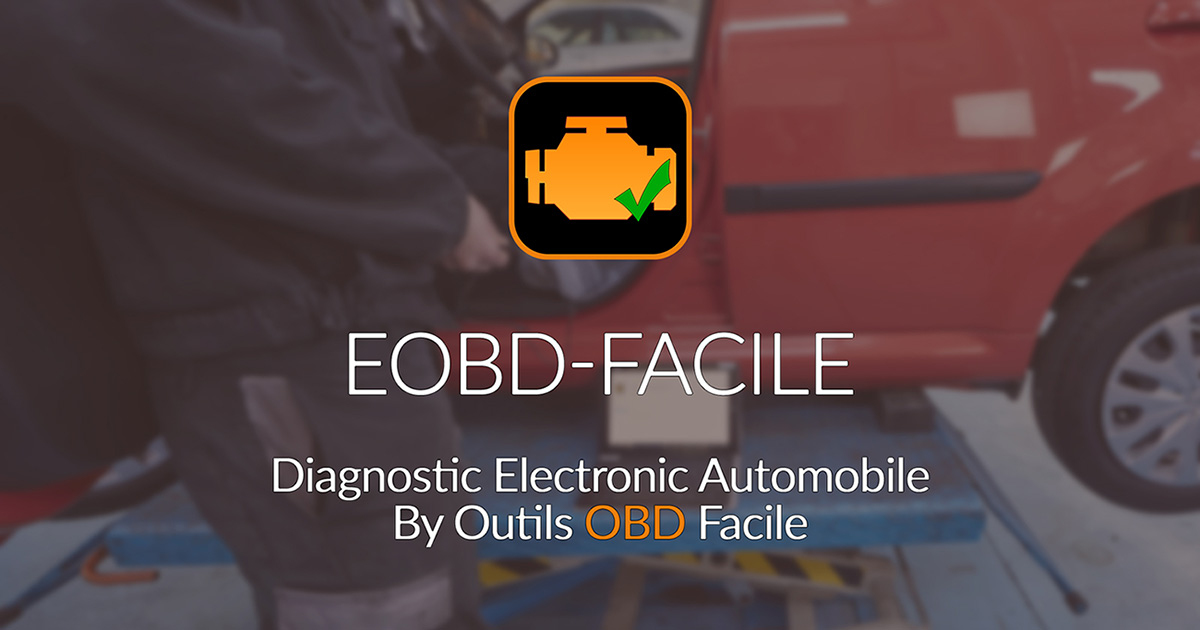logiciel de diagnostic automobile eobd facile outils obd facile. Black Bedroom Furniture Sets. Home Design Ideas